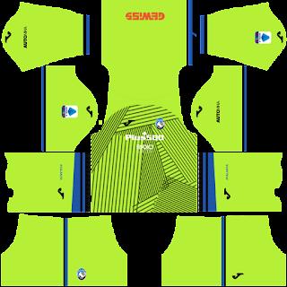 Atalanta gk third kit 2022