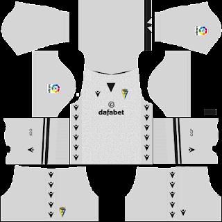 Cádiz gk away kit 2022