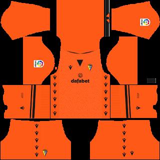 Cádiz gk home kit 2022