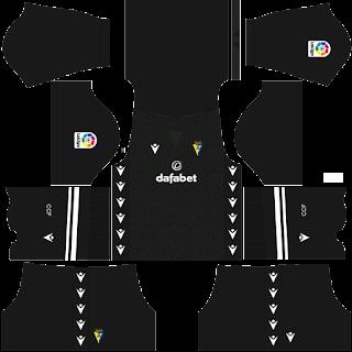 Cádiz gk third kit 2022