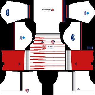 Cagliari away kit 2022