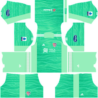Cagliari gk home kit 2022