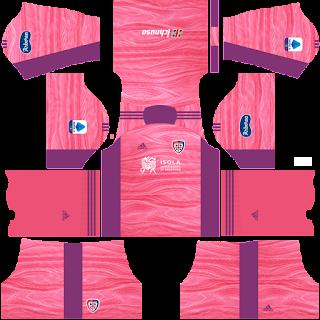 Cagliari gk third kit 2022