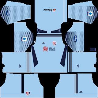 Cagliari third kit 2022