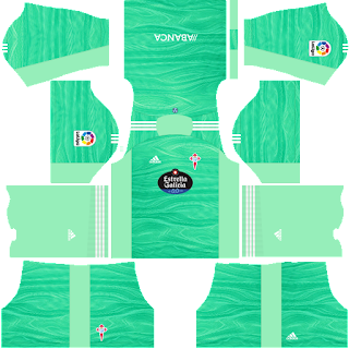 Celta Vigo gk away kit 2022