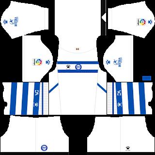 Deportivo Alavés away kit 2022