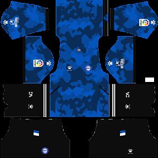 Deportivo Alavés third kit 2022