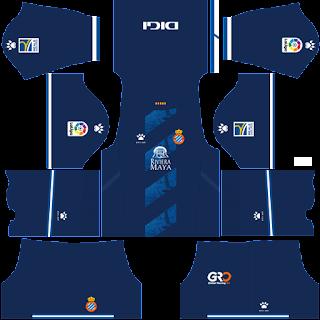 Espanyol third kit 2022