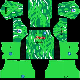 Napoli gk home kit 2022