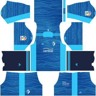 Osasuna gk away kit 2022
