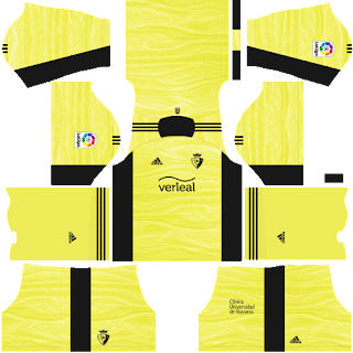 Osasuna gk third kit 2022