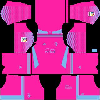 Osasuna third kit 2022